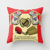 We do, we do! Throw Pillow