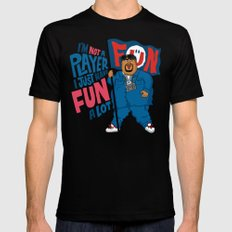 Big Fun Black Mens Fitted Tee SMALL