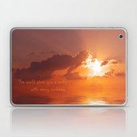 The Sunset Laptop & iPad Skin