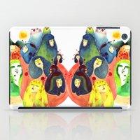 Moss and birds iPad Case