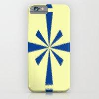 Blue Asterisk iPhone 6 Slim Case