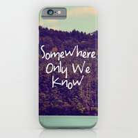 iPhone & iPod Case featuring Somewhere by Rachel Burbee