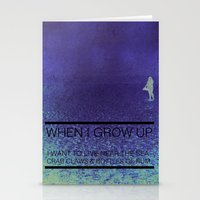 When I Grow Up... Stationery Cards