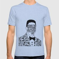Eric Garner - Black Lives Matter - Series - Black Voices Mens Fitted Tee Athletic Blue SMALL
