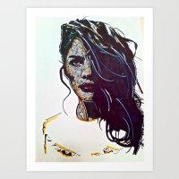 Focused Art Print
