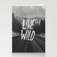 Live Wild X North Cascad… Stationery Cards