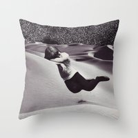 SNOOZE Throw Pillow