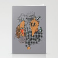 Beetle Gothic - A Portra… Stationery Cards