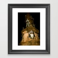 In Darkness & In Light  Framed Art Print
