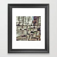 Making A Statement Framed Art Print