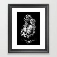 Kontur Framed Art Print
