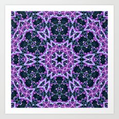 Lavender and Ivy Art Print