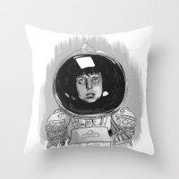 Ellen Ripley Alien Throw Pillow