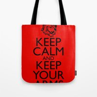 Keep Calm And Keep Your … Tote Bag