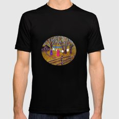 Wash day Mens Fitted Tee Black SMALL
