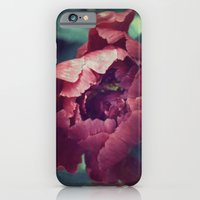 iPhone & iPod Case featuring Peony Red flower by Ioana Stef