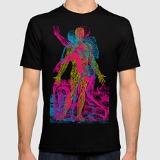 Andreae Vesalii 1 SMALL Mens Fitted Tee Black