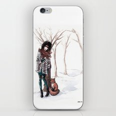 Woodland Frost iPhone & iPod Skin
