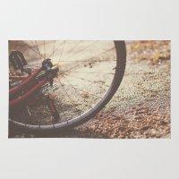 Bike Spokes  Rug