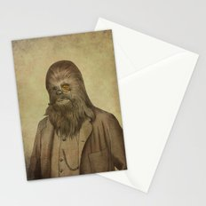 Chancellor Chewman (square format)  Stationery Cards