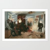 The House Of The Last Ca… Art Print