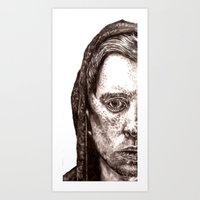 Half Art Print