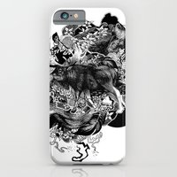 iPhone & iPod Case featuring Alces Alces by Cat Sims