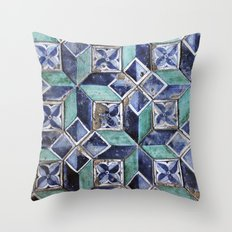 Tiling with pattern 3 Throw Pillow