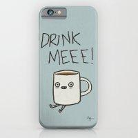 Drink Me Coffee iPhone 6 Slim Case