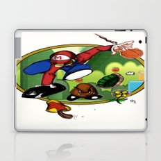 Mario landS Laptop & iPad Skin