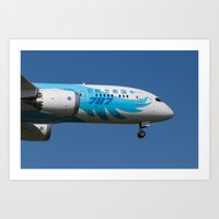 China Southern Airlines Boeing 787 Art Print
