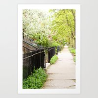 Another Day in the Neighborhood Art Print