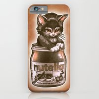 Kitten Loves Nutella iPhone 6 Slim Case