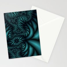 What is above is also below fractal  Stationery Cards