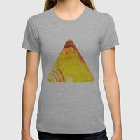 Earth's Fantasy, from the Lithosphere emerges Beauty - Agate Womens Fitted Tee Athletic Grey SMALL