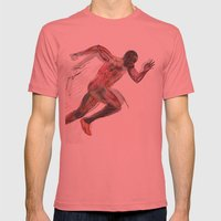 The Olympic Games, London 2012 Mens Fitted Tee Pomegranate SMALL