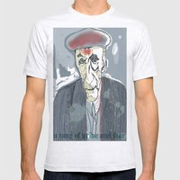 William S. Burroughs Mens Fitted Tee Ash Grey SMALL