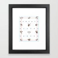 Memento Audere Semper Framed Art Print