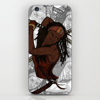 Michonne iPhone & iPod Skin
