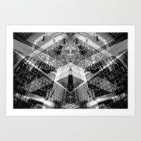 stair ascender Art Print