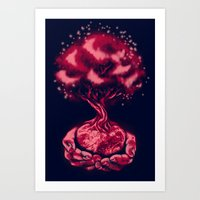In Our Hands Art Print