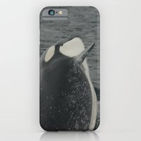 iPhone & iPod Case featuring Orca Whale by Allison Baskett