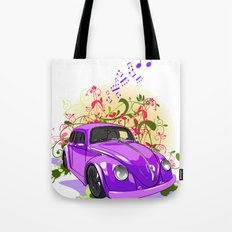 Baby U Can Drive My Car... Yes I'm Gonna Be A Star Tote Bag