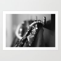 Coat Hook Haute Art Print