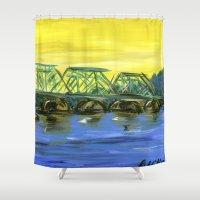 New Hope-Lambertville Br… Shower Curtain