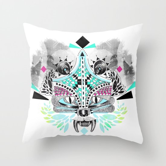 Undefined creature Throw Pillow