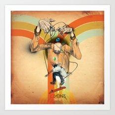 The Totem Alias Art Print