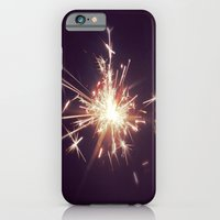 iPhone & iPod Case featuring Fireworks by Machiine