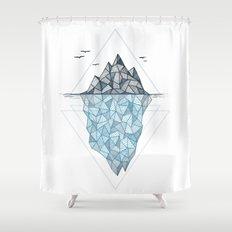 Iceberg Shower Curtain