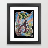 Army Of Darkness: Pulped… Framed Art Print